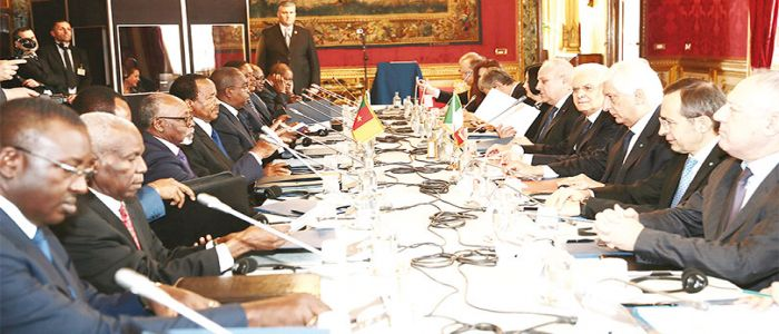 Cameroon – Italy: Economic Forum Opens In Rome Today