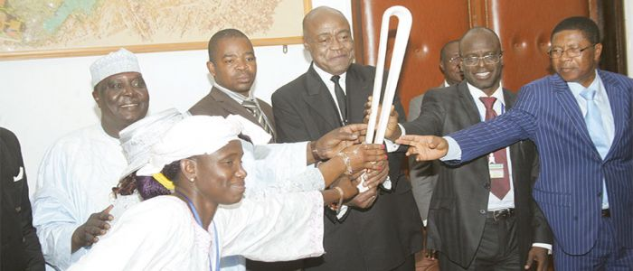 Commonwealth Games: Baton Relay Presented In Yaounde