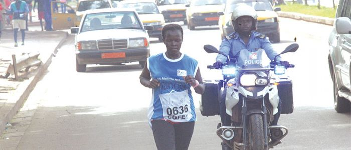 Yaounde Women Race: Carine Bongkineh Emerges Winner