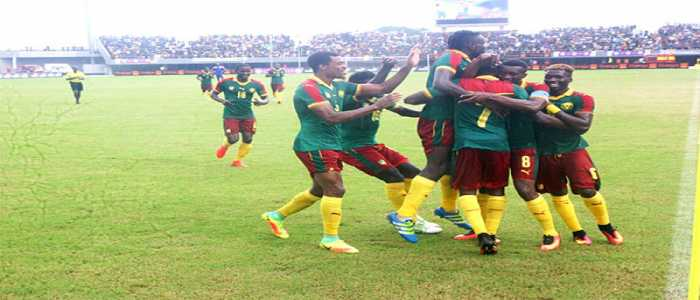 Image : 2017 AFCON Qualifiers: Cameroon Wallops Gambia 2-0