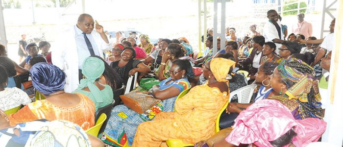 Breast, Cervical Cancers : Over 400 Women Screened